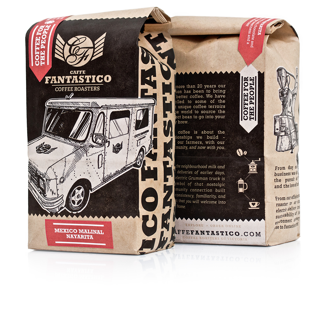 Caffe Fantastico coffee bags